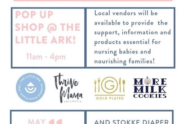 The Nursing & Nourishing Pop-Up at Little Ark