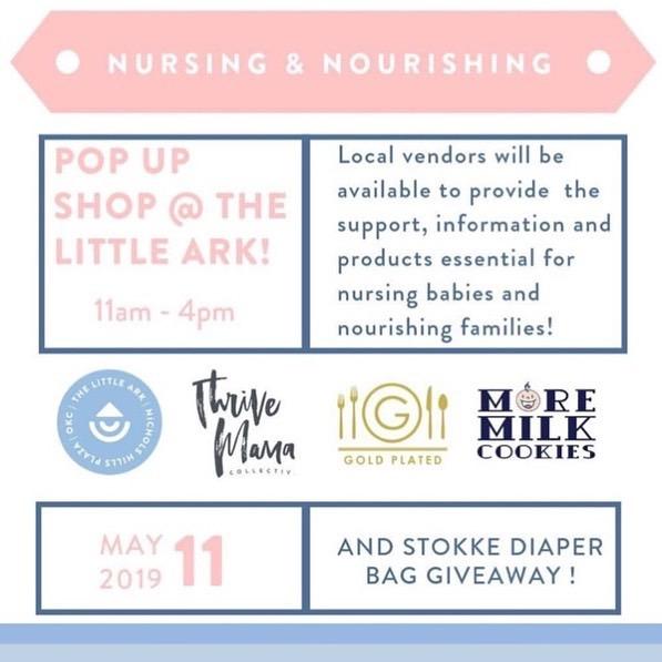 The Nursing & Nourishing Pop-Up at Little Ark